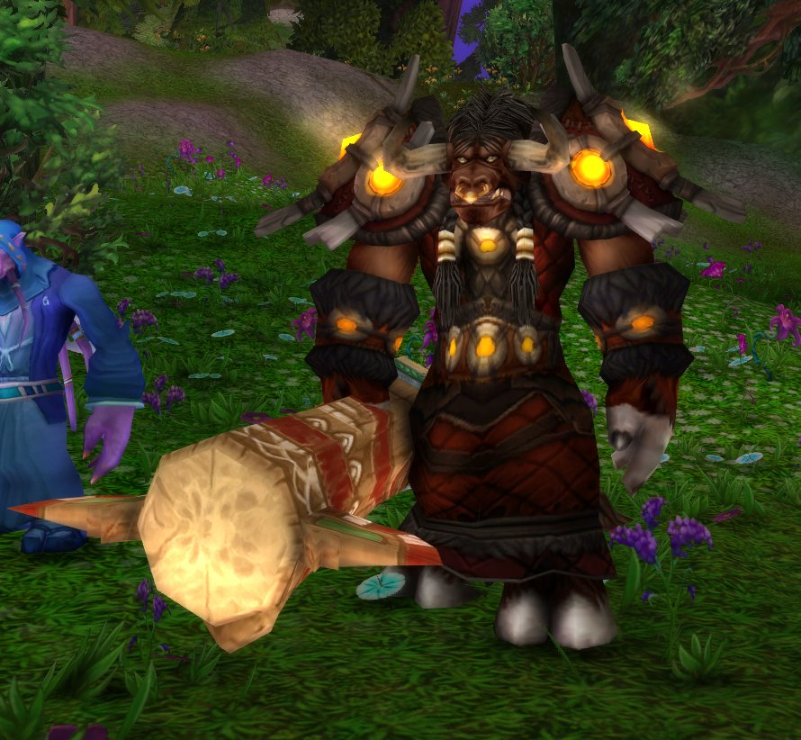 Please make Tauren Totem a weapon : wow