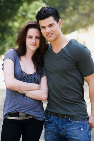 Photo of Taylor Lautner & his friend, actress  Kristen Stewart