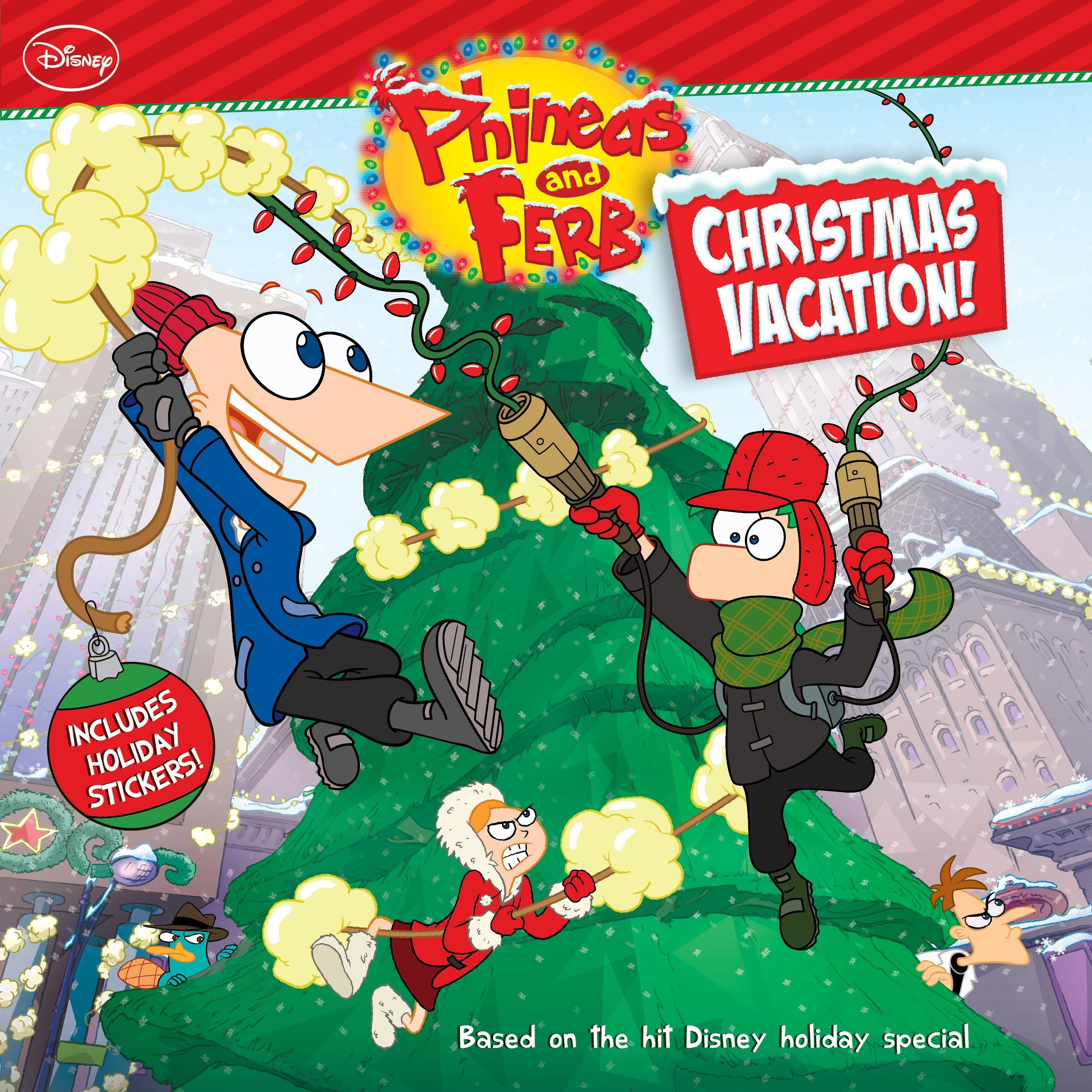 Animation Unplugged...: Phineas & Ferb Christmas Vacation