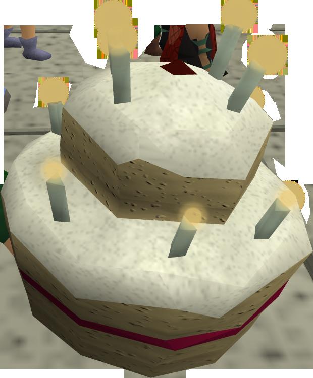 Runescape Birthday Cake