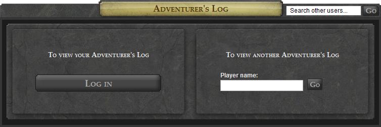 Adventurer's Log - The RuneScape Wiki