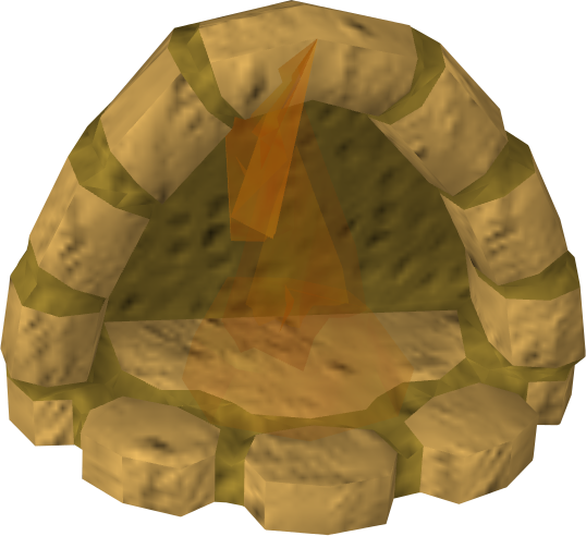 Clay fireplace The RuneScape Wiki