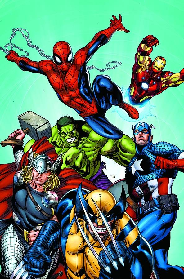 History Of The Marvel Universe Vol 1 1 Textless Jpg