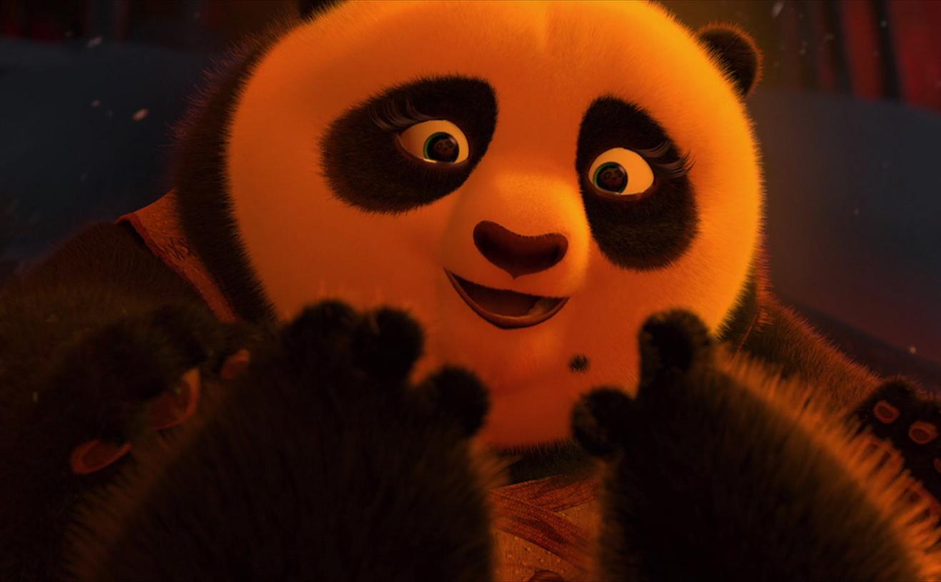 Po sMother1Kung Fu Panda 2 Baby Po