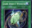 Silbato de Jade de Insectos