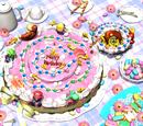 Pastel de Cumpleaños de Peach