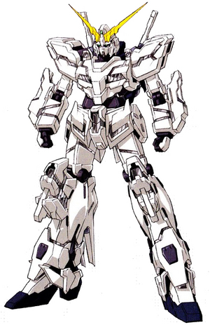 Deactivated Gundam Unicorn