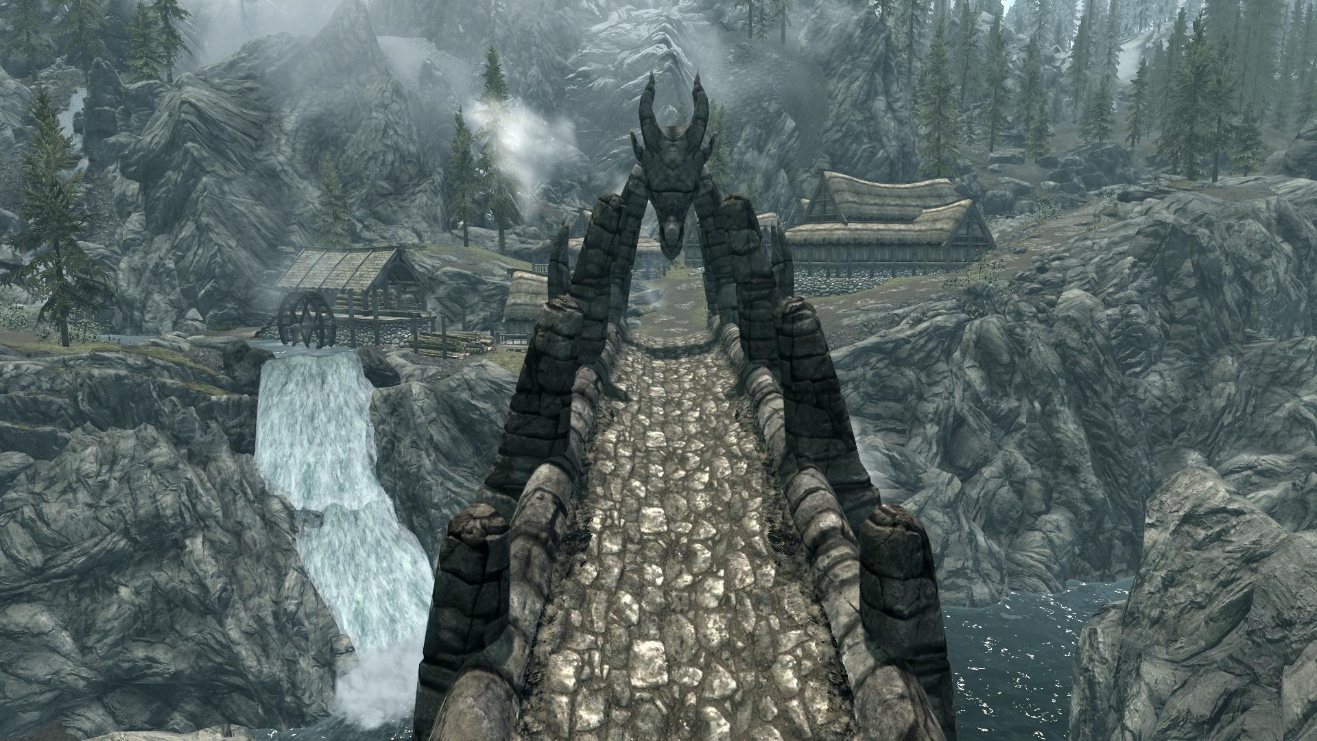 Dragon Bridge Skyrim The Elder Scrolls Wiki