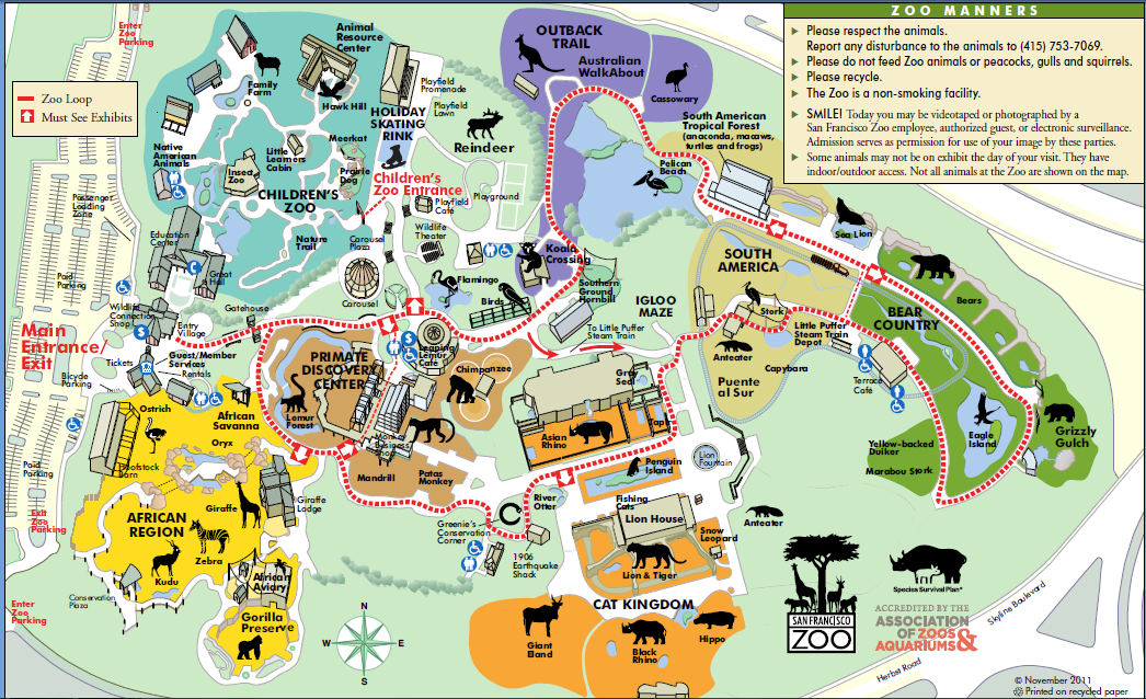 Image - San fran zoo.png - List of Major Zoos in the U.S ... X 23 Marvel Avengers Alliance