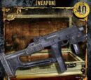 Machine Pistol w/Stock (WE-038)