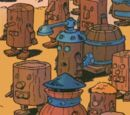 Handy's robot servants