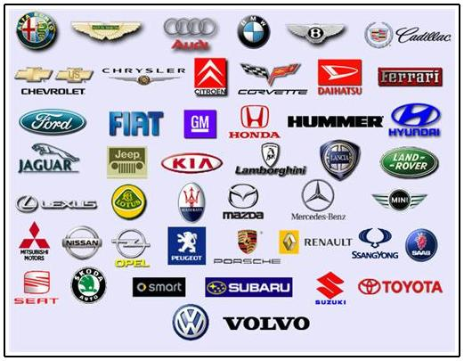 Automotive Logos That Start With D Image