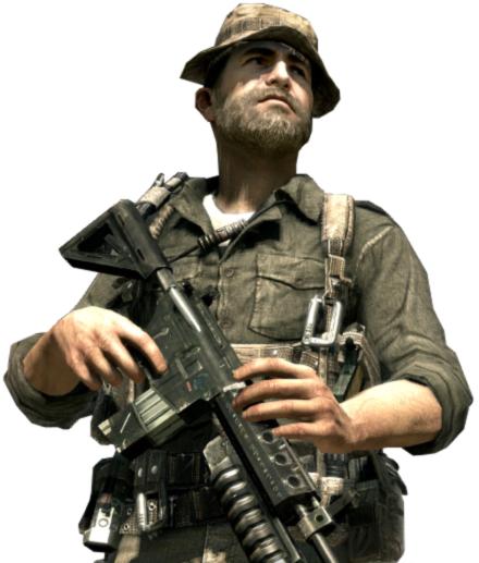 Kapitan John Price w Call of Duty  Modern Warfare 3Call Of Duty Mw3 Price