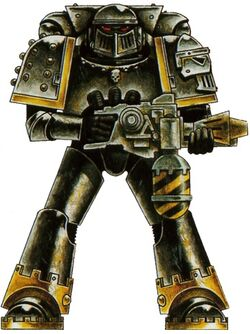 Iron Warrior Pre-Heresy Armor