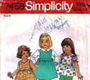 Simplicity 7458 A