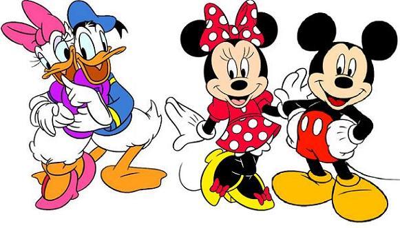 micky und minni mouse