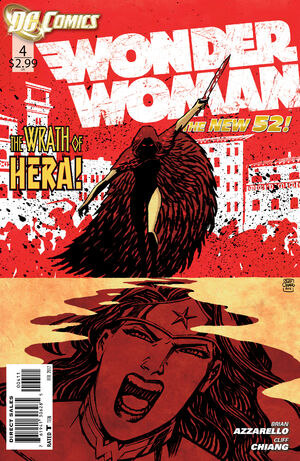 Cover for Wonder Woman #4 (2012)