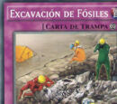 Excavación de Fósiles