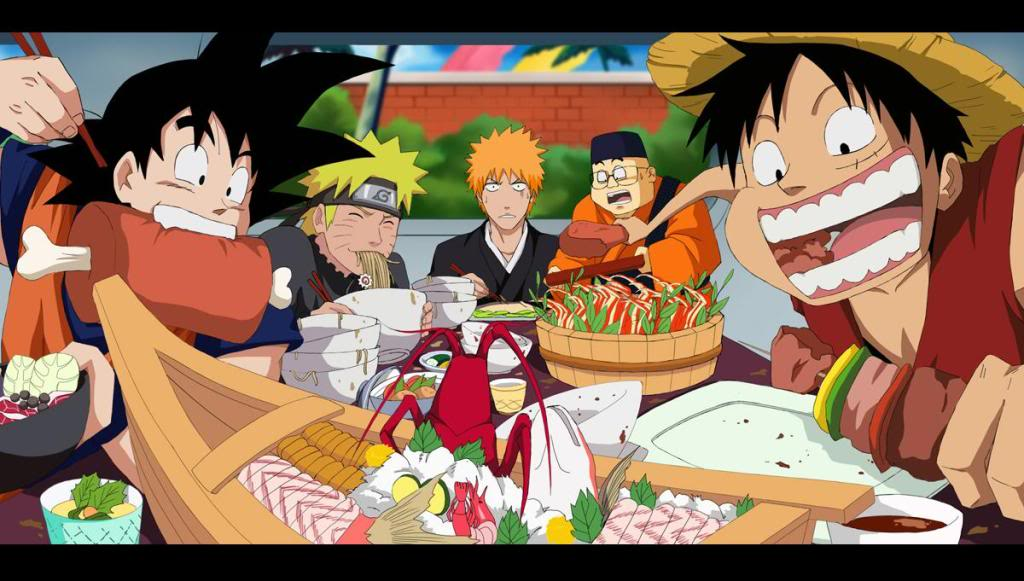 Foods They Eat In Dragon Ball Z