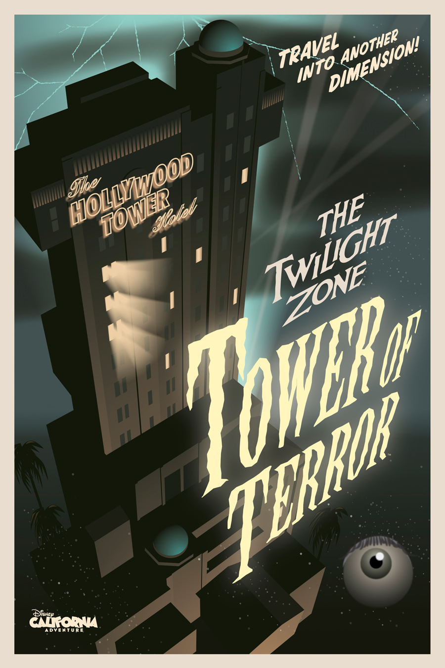 the twilight zone tower of terror disney wiki