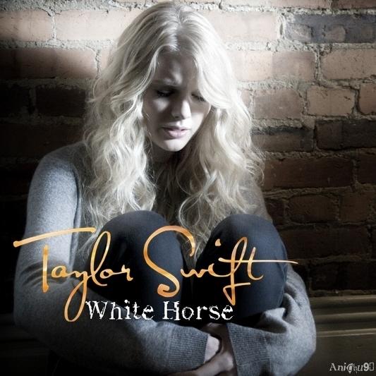 Taylor Swift white horse