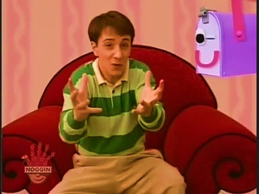 Magenta Comes Over - Blue's Clues Wiki