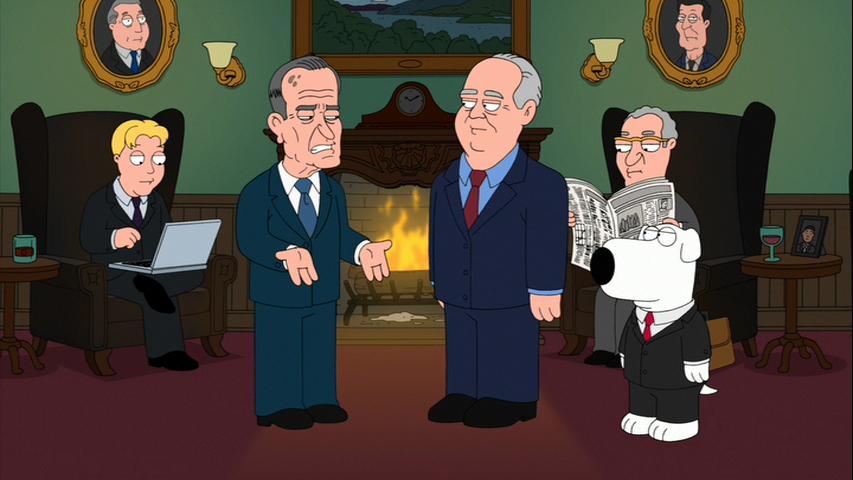 George W Bush Family Guy Vietnam