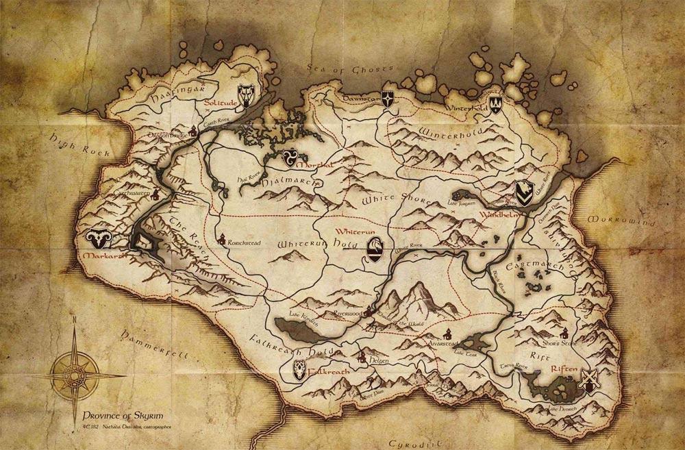 Los mapas más grandes de los videojuegos Elder_scrolls_skyrim_mapa_imagen_pant01