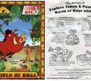 Timon & Pumbaa: World of Bugs (KFC, 1996)