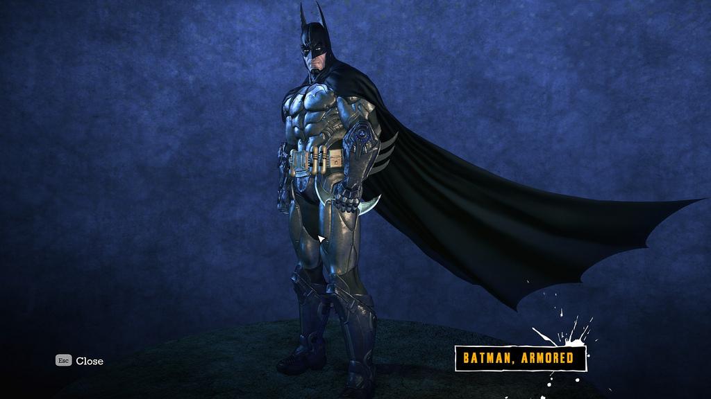 Arkham asylum batsuit