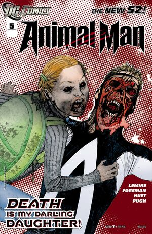 Cover for Animal Man #5 (2012)