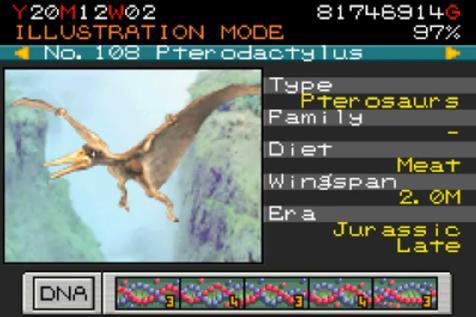 Jurassic Park Builder Pterodactylus Pterodactylus from Jurassic