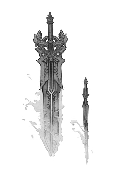 Angelic Sword - Darksiders Wiki - Wrath of War, Weapons ...