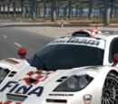 BMW McLaren F1 GTR Race Car '97