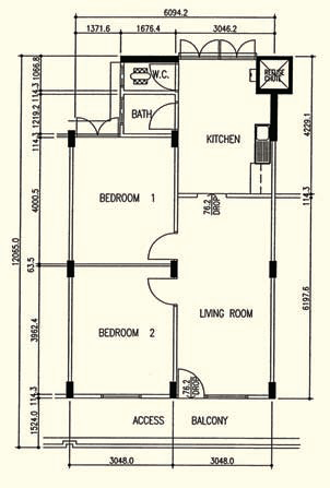 Hdb Floorplans Singapore Public Housing Wiki