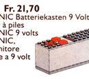 5115 Technic Battery Box 9V