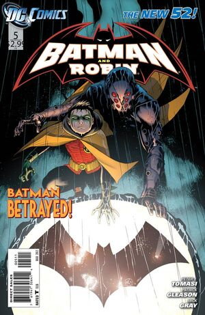 Cover for Batman and Robin #5 (2012)