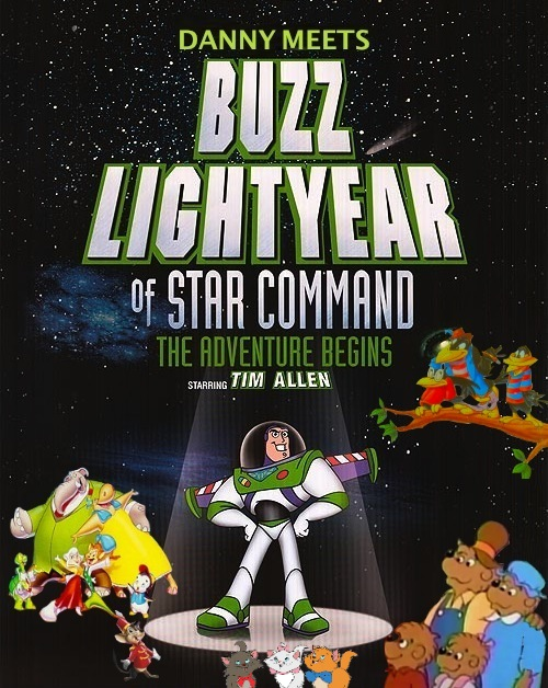 Danny Meets Buzz Lightyear Of Star Command The Adventure