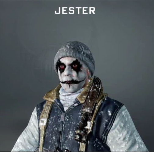 Gallery For gt Black And White Jester Face Paint