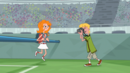 Jeremy photographing Candace at end of the F Games.png