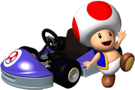 Mario Kart 7 Coloring Pages