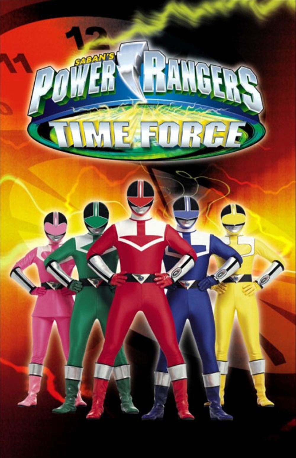 Power Rangers Time Force Episode 18 Subtitle Indonesia
