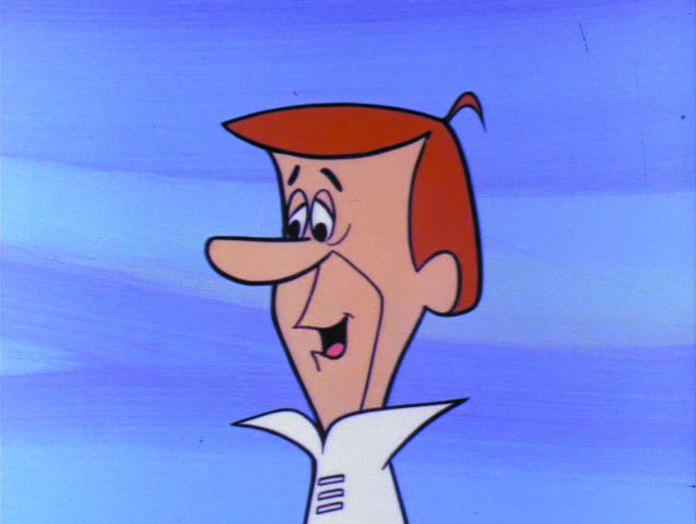 Cartoon Characters Jetsons : George jetson the jetsons wiki