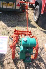 Simplicity 1hp tractor at Astwoodbank 2011 - IMG 8617