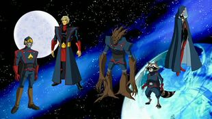 Guardians of the galaxy the avengers earth s mightiest heroes wiki