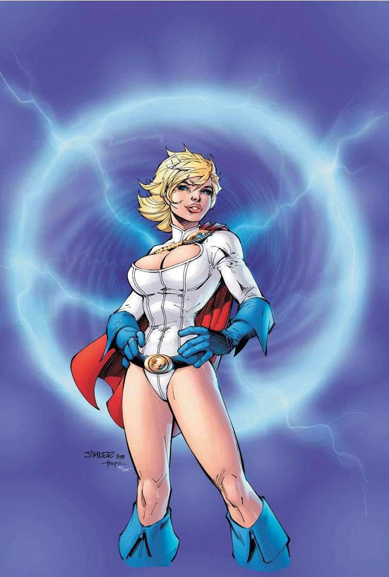Power girl dc comics