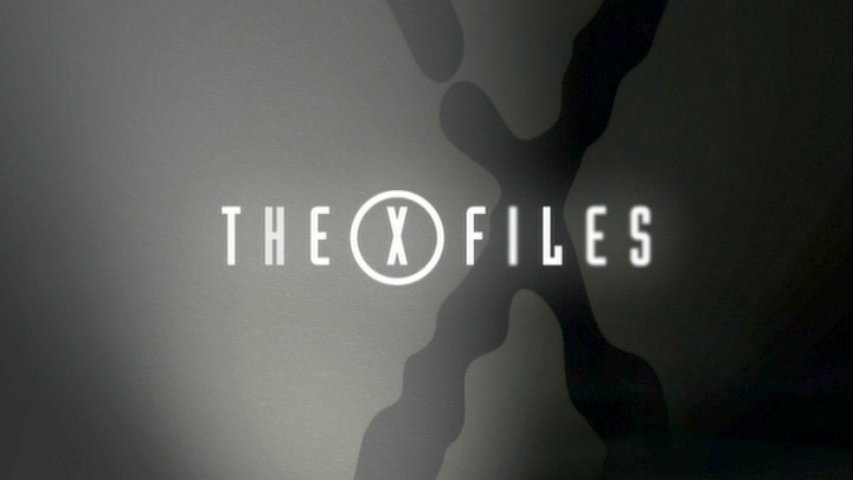 X-Files generique logo saison  X Files Logo