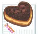 Dunkin' Heart Donut