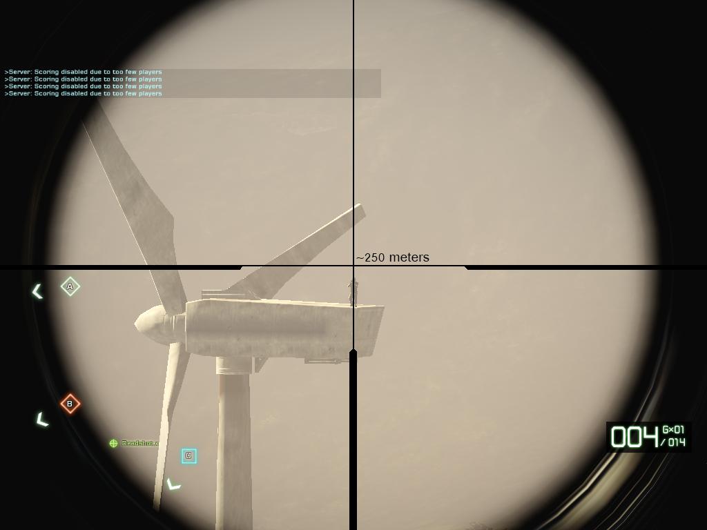 L96 Bullet Drop Guid - Forums - Battlelog / Battlefield 3