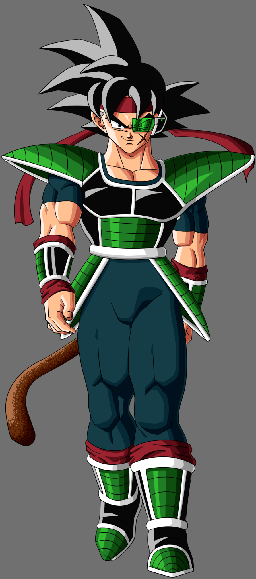 Bardock s main appearance throughout the series Bardock